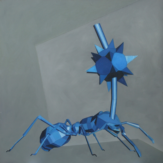 infected ant
